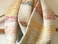 I'm knitting!