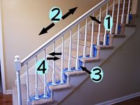 Best 17 Best Images About Redoing The Stairs On Pinterest 640 x 480