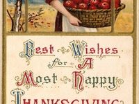 Wonderful memories of Thanksgiving as a child and later when my children were growing up and still at home.