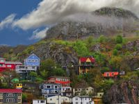 NEWFOUNDLAND MY HOME TOWN, KEEPS DRAWING ME BACK TO THE BEAUTIFUL SITES AND SOUNDS OF THE OCEAN. / sceneary, and sounds.