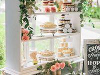 Mesas de dulces. Evento