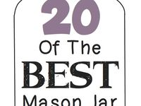 Mason And Other Glass Jars