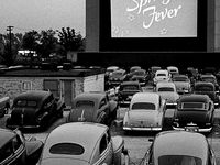 vintage drive in movies