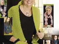 Crochet - Clothing - Scarfs