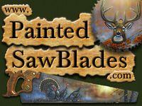 Painted SawBlades...