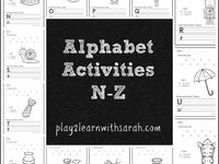 Alphabet games to help kids learn their letters and sounds