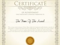14 best images about certificate on pinterest english for National honor society certificate template