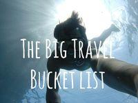 Pinterest group board: The Big Travel Bucket List