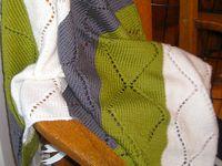 Knitting and crochet.