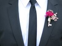 Boutonnieres + corsages + Hair Flowers