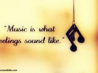 Music is magic!  Music speaks louder than words and it's a 'language' that the whole world understands.
