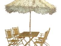 8 best bamboo patio furniture images on pinterest tiki for Arredamento tiki