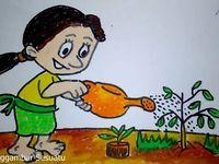 30 Gambar Kartun Menanam Bunga Gambar Kartun Anak Menanam Pohon Keren Bestkartun Ilustrasi Bunga Tanaman Pot Bunga Kartun Pink E Gambar Kartun Kartun Gambar