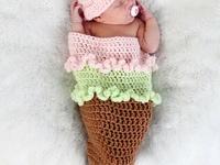 Crochet - Cocoons & Photo Props
