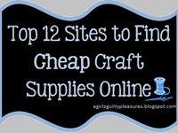 Websites- Crafts