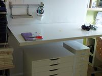 Sewing Rooms & Spaces - Organisation & Storage Solutions