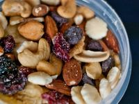 Homemade Trail Mix on Pinterest | Homemade Trail Mix, Trail Mix ...