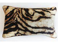 Rembrandt Velvet Tassel Cushion Velvet Cushions Throw Pillows Pillows