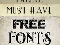Fonts / Printables