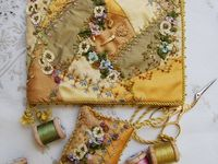 CRAZY QUILTS, PATCHES, PROJECTS