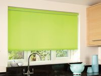 """Complete Ready To Go Bamboo Vertical Blind Chain and Cord Operation 3.5/"""" 89mm"""