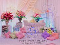 Mini Pelamin Tirai Pelamin Tunang Pakej Perkahwinan Busana Pengantin Buaian Berendoi Warna Simple Wedding Decorations Wedding Photography Styles Pelamin Simple