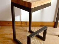 wood metal product design