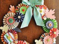 Craft wreaths