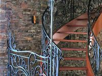 IRON STAIRS & FENCE