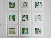 About photo wall on pinterest frames ikea frames and photo walls