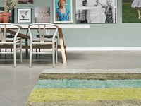 Adding Texture... / ...adds to the all important 'layers' in a room, often mentioned by interior designers. The new collections of shaggy rugs come in soft pastels, blocks of colour and even patterns.