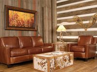 Cabin furniture, Rustic living rooms and Log cabin homes