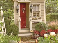 outhouses,