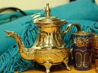 I am crazy about all things Moroccan!