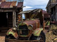Oude Auto's.