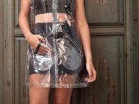 Plastic dresses