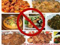 Pantangan Kolesterol