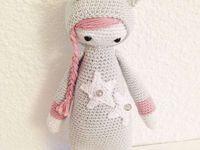 Muñecas  crochet