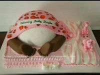 Cakes--baby shower cakes
