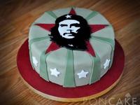 Che Guevara Birthday Cake