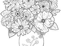 27 best images about coloring for eldery people and Coloring books for adults with dementia