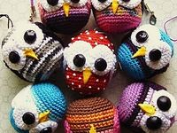 Crocheted & Knitted animals