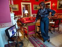 "The-1-&-Only,,,""MY BLACK 1st LADY"" Mrz. Michelle Obama"