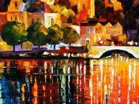 Les Artistes: Leonid Afremov... color delight.