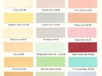 8 Best Images About 1930 39 S Paint On Pinterest Colors Colour Chart And