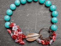 Beaded Wire & Metal Stamped Jewelry 3