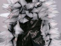 Haute couture fashion design