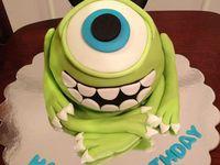 Disney's Monsters Inc/Monsters U Cakes
