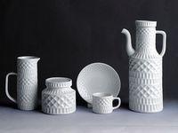 pottery . tiles . glass . mirrors . metal