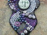 ARTISTIC BEADED FACES  AND DOLLS